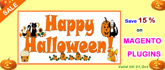 Halloween Day Offer for Magento Extensions