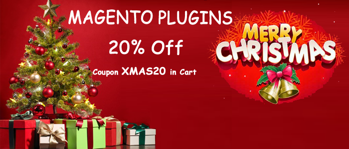 xmas offer 20% for magento extensions