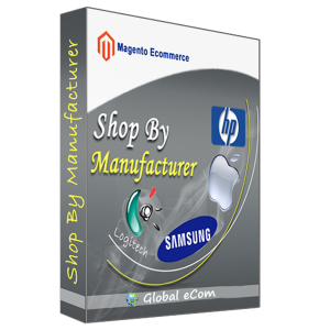 Shop By Manufacturer - Magento Extension