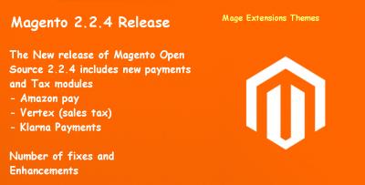 Magento 2.2.4 Release