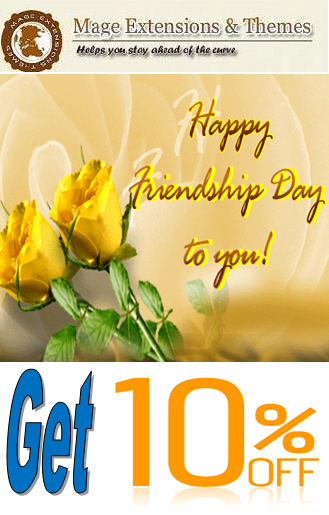 Friendship Day offer for Magento Extensions