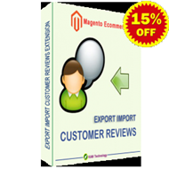 Export Import Customer Reviews Magento Extension